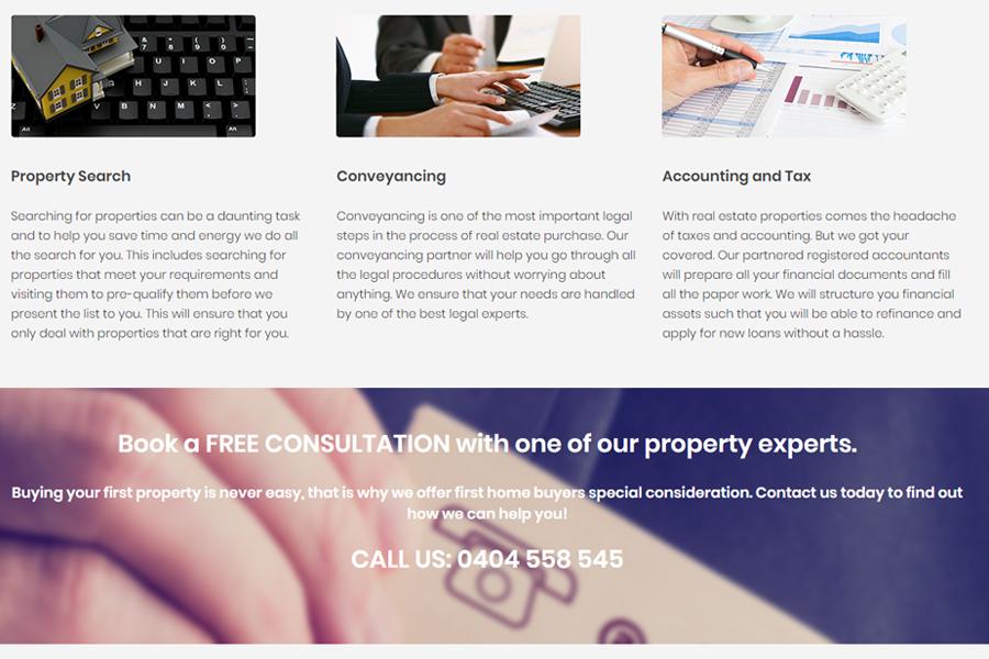 Web Design, SEO, Social Media Agency Melbourne - Client APP